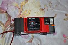 Rare Canon Red Snappy 20 35mm Camera