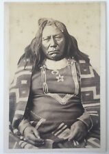 1870's Colorow  Ute  Indian Chief Original William H Jackson Photo