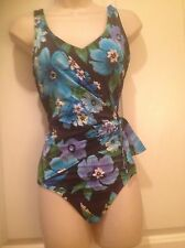 Islander Size 10 Floral One piece Swimsuit