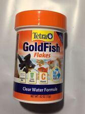 TETRA TETRAFIN GOLDFISH FLAKES 0.42 OZ AQUARIUM FISH FOOD. FREE SHIP TO THE USA