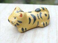Raku yaki Hashioki Chopstick rest Kyo Kiyomizu yaki Tiger  Chinese Zodiac Japan