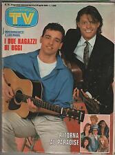 SORRISI E CANZONI TV 1985 eros ramazzotti luis miguel lino banfi christian ewoks