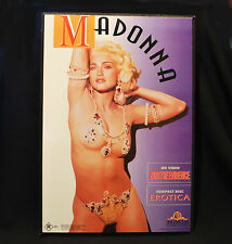 Madonna Erotica & Body Of Evidence Promo Mounted Picture MGM Vintage 1992