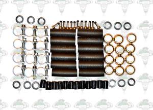 Jaguar V12 Lucas 73143B Bosch 0280150035 Injector Seals Hoses Filters - Kit 105