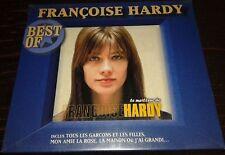 NEUF SCELLE FRANCOISE HARDY TRES RARE CD DANS ETUI BLEU BEST OF LE MEILLEUR DE