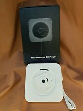 New listing Wall Mounted Bluetooth Cd Player Mount Remote Control Stereo Fm Nib