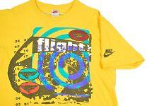 MENS XL VTG 90s Nike Air Jordan T Shirt Gray Tag Michael Flight Basketball USA