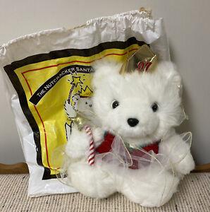 1997 The Nutcracker Santa Bear Collection w Original Tag & Bag