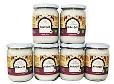 Kokosfett Bio Kokosöl Coconut Butter Classic Ayurveda  6 x 500ml = 3000ml