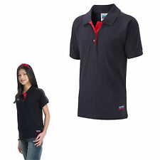 Guide Polo Plain Navy Red Uniform Shirt Official Girls Club Kids Delivery 38