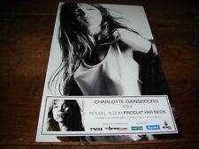 CHARLOTTE GAINSBOURG - PETITE PUBLICITE IRM !!!!!!!!!!!