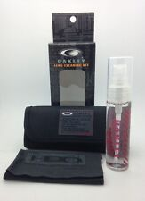 New! Authentic OAKLEY Lens Cleaning Kit For Sunglass or Eyeglass Lenses w/ Case!