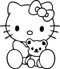 Sticker Hello Kitty 118 - 57x66 cm