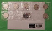 2012 Canada Isaac Brock 25 Cents10-Pack Set With Mint's Envelope