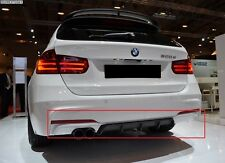 BMW 3 SERIES F30 F31 FROM 2011 REAR BUMPER DIFFUSER SPOILER M-PERFORMANCE LOOK
