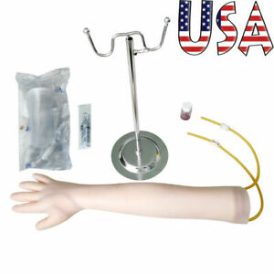 Medical Teaching Adult Venipuncture Injection Training Arm Model Hospitals FDA