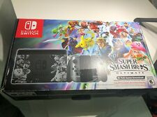 Nintendo Switch Super Smash Bros Console EMPTY BOX ONLY INSERTS MANUAL USA