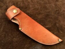 Beautiful Handmade-Well Stitched Leather Sheath-Knife Cover-Outdoors-LS1