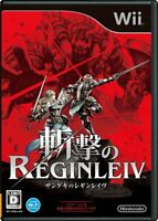 Nintendo Wii Zangeki no Reginleiv From Japan Japanese Game