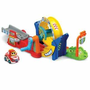 vTech Baby Toot-Toot Drivers 360 Degrees Loop Track - Race Car & 2 Smart Points