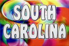 South Carolina Tye Die Fridge Magnet