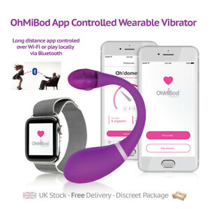Kiiroo OhMiBod Esca 2 Wearable Massager Bluetooth Wi-Fi App-controlled Sex Toy