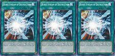 Burst Stream of Destruction X 3 1st Mint YSKR-EN036 yugioh