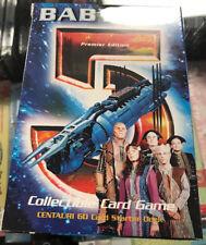 Babylon 5 CCG Starter Deck Centauri 1997 New unopened OOP