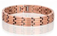 NEW COPPER MAGNETIC LINK BRACELET mens womens STYLE#LK  jewelry health Energy