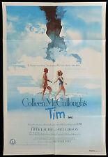 TIM VIntage Australian One Sheet Movie poster MEL GIBSON Colleen McCullogh
