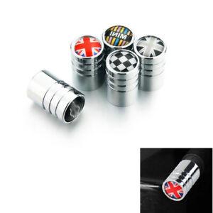 4PCS Car Tire Wheel Valve Stem Cover Caps For All MINI Cooper R Series F Series