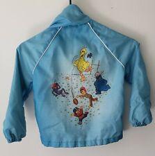 Vintage Sesame Street Jr. Boys Jacket 1960'S - 70'S Jc Penney Big Bird Football