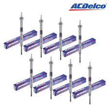 Set of 8 Glow Plug ACDelco Made in USA 60G For Diesel GMC and Chevrolet 82-02