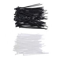 200 pieces Self-locking UV Resistant Nylon Cable Cord Ties Wire Zip Ties