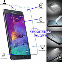 Real TEMPERED GLASS Film Invisible Screen Protector For Samsung Galaxy Note 4