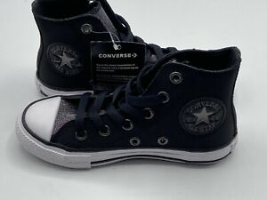 Converse All Star Girl's Shoes Size 13c Chuck Taylor 662297C Black