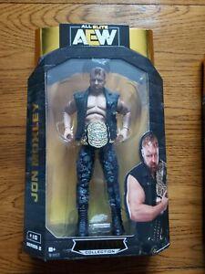 AEW UNRIVALED JON MOXLEY WRESTLING FIGURE NEW SEALED WWE ELITE