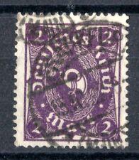 Deutsches Reich - 224 b - Posthornzeichnung ohne Unterdruck - gestempelt - gepr