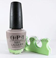 OPI Nail Lacquer Polish Taupeless Beach NLA61 full size .5oz NEW +bonus!