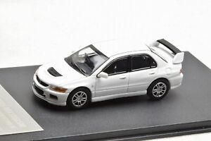 GOC 1/64 Scale Mitsubishi Lancer EVO IX 9 White Diecast Car Model Collection