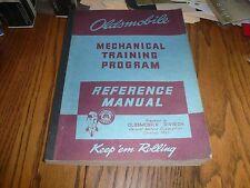 1938 - 1942 Oldsmobile Mechanical Training Program Reference Manual - Orig. GM