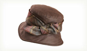 New Ladies Olney Nancy Wax Outdoor Weatherproof Country Hat - Style R4732