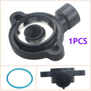 Black Installed on the Throttle Body Assembly Throttle Position Sensor Male Plug