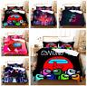 New 3D Among US Duvet Quilt Cover Bedding Set Queen Comforter Cover Pillowcase