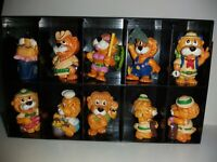 LOT DE 10 FIGURINES KINDER LIONS AVENTURES