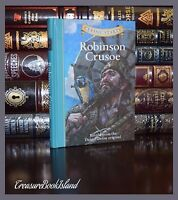 Robinson Crusoe by Daniel Defoe Brand New Illustrated Gift Hardcover Edition