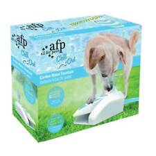 Dog Drinking Water Fountain Outdoor AFP Garden Push On Pet Sprinkler Dispenser