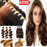 7A Brazilian Virgin Human Hair Weave Weft Straight Body Wave 3 Bundles Color LC