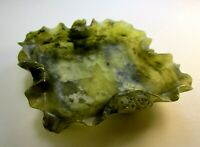 Beautiful Chinese Greenish Jade Pin Plate