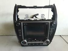 TOYOTA CAMRY STEREO/HEAD UNIT 6.1in TOUCH SCREEN (P/N ON FACE 100457), ASV50/AVV